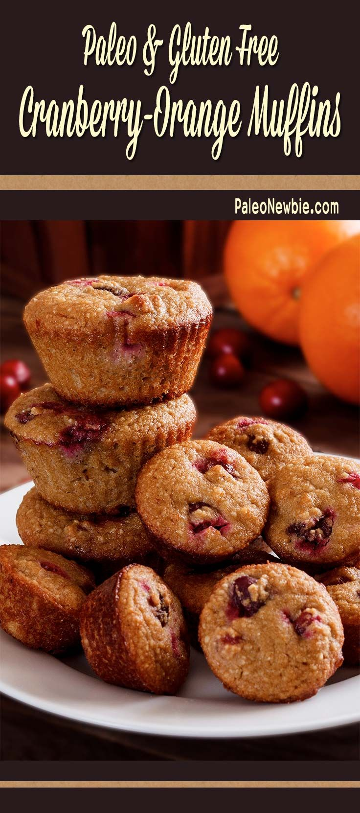 Easy and light breakfast or anytime muffins that are more sassy than sweet. #paleo #glutenfree