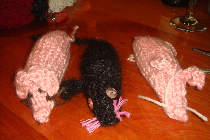 Little mice ready to visit our local papers headquarters after they printed a controversial article 2011