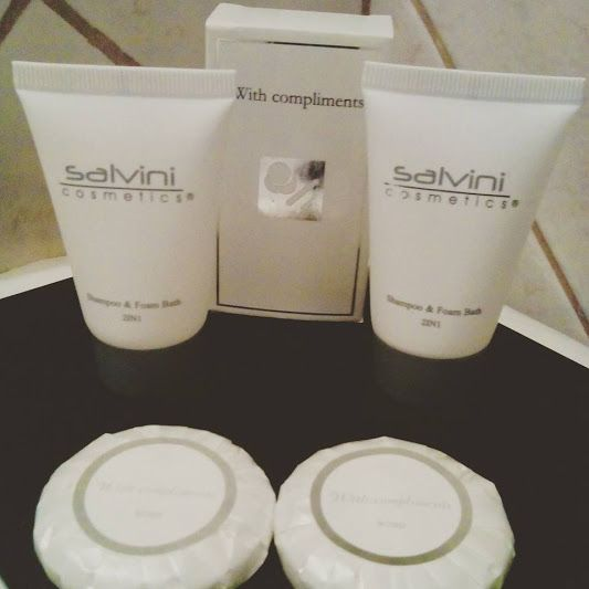 Διαλέγουμε πάντα τα καλύτερα για εσάς... Bathroom Amenities με την υπογραφή...Salvini!!! www.nantinhotel.gr #Bathroom_Amenities #SalviniSupplies #Nantinhotel #Bed_and_Breakfast #Ioanninahotel #Ioannina #Epirus #Greece