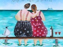Postkarte! Home is, where my HEART is!