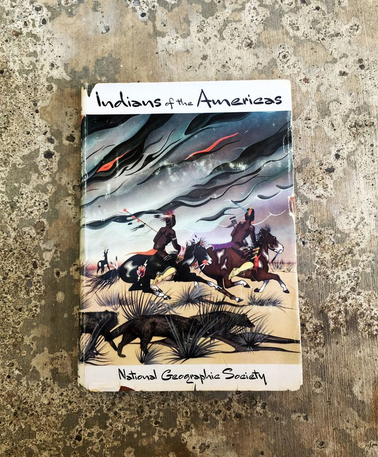 Vintage Native American History Book, Beautifully illustrated 1955 National Geographic Society by GospelHymnsVintage on Etsy