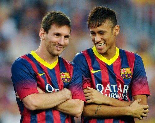 バルセロナのFWネイマールがチームメートを称賛「メッシは天才」