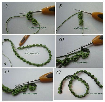 "Patrones Crochet: Tutorial Crochet Encaje Irlandés: ""Lace Wings"""