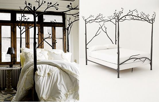 tree bed frame anthropologie 2