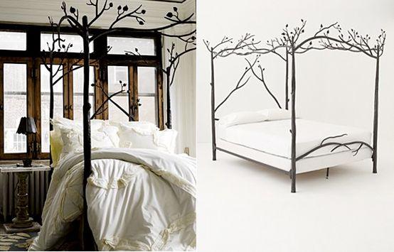 tree bed frame anthropologie 2