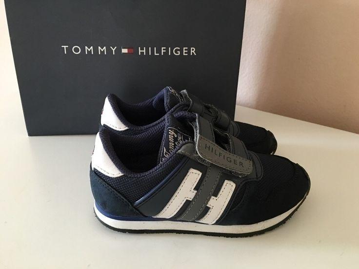 Mein Orig. Tommy Hilfiger Sneakers Gr.26 von Tommy Hilfiger! Größe 26 für 30,00 €. Schau´s dir an: http://www.mamikreisel.de/kleidung-fur-jungs/sneakers/30241498-orig-tommy-hilfiger-sneakers-gr26.