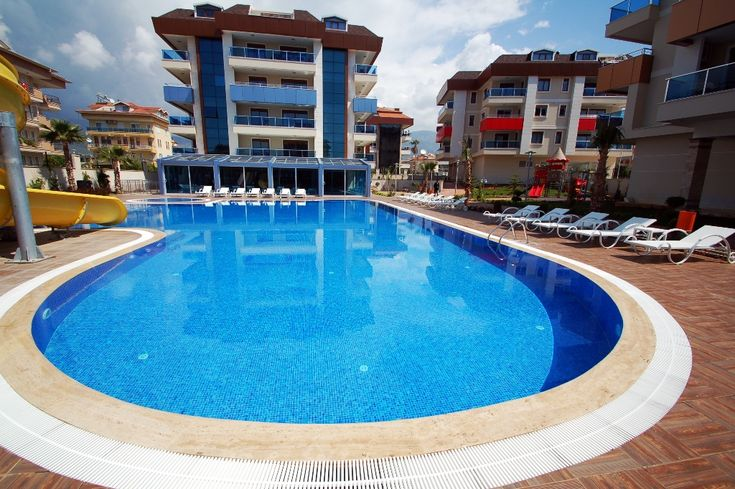 Oba Town Residence - A selection of 1,2,3,4 and duplex bedroom apartments, situated on a family friendly complex with communal swimming pool, tennis courts, aqua-park, Wi-Fi, Children's play area and much more. The complex is close to local amenities and just 500 meters from the sea front. Price: £61,819