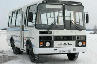 Автобус ПАЗ-3205 отметил 25-летие