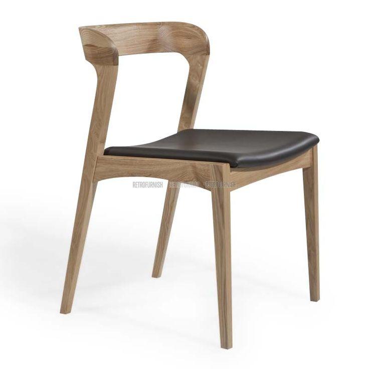 Cabin Wood Chair-FAB-T506 Light Grey-tw