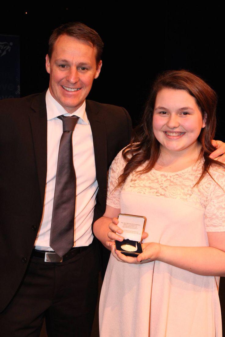 Congratulations to @BethanyKnight winner of #JackPetcheyAchievementAward