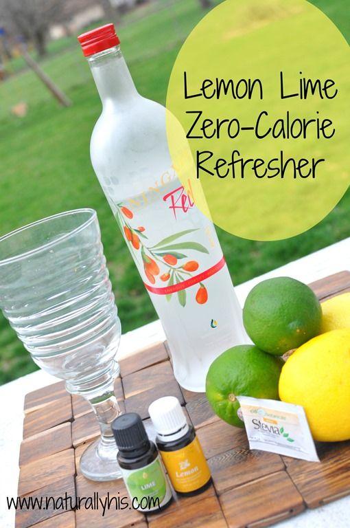 Lemon Lime Zero Calorie Refresher www.facebook.com/essentialoillover www.essentialoillover.blogspot.com