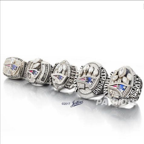 ==> [Free Shipping] Buy Best 2001 2003 2004 2014 2016 New England Patriots Super Bowl champions Championship Ring Set With Wooden Display Box Drop Shipping Online with LOWEST Price | 32815666690