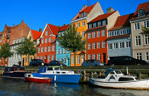 Colorful buildings in Nyhavn