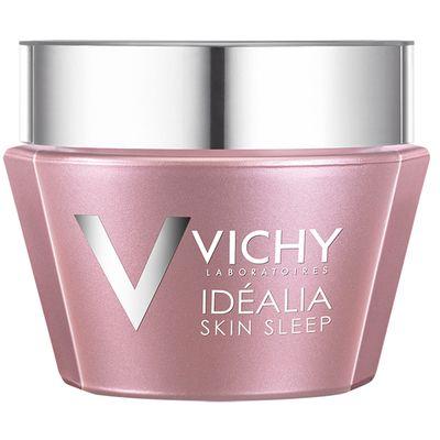 Vichy a identifié un complexe innovant d'ingrédients pour cibler les cycles fondamentaux de la réparation de la qualité de la peau pendant la nuit: vitamineB3 + HUILES RÉPARATRICES (restauration de la barrière cutanée), LHA (lutte contre la desquamation), ACIDE GLYCYRRHIZIQUE + acide hyaluronique (différenciation et réorganisation cellulaire), CAFÉINE (stimulation de la microcirculation).