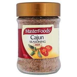 Cajun Seasoning -  MasterFoods 115g  | Shop Australia