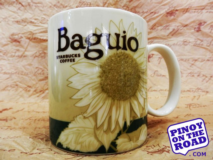 Baguio Starbucks Icon Mug... i'll go there one day