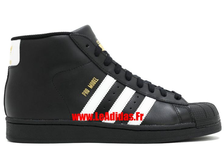 Adidas Pro Model - Chaussures Adidas Running Pas Cher Pour Homme/Femme Blanc /Noir