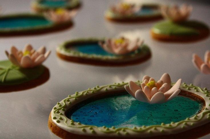 アイシングクッキー - Farina - Fな生活 - cookie lake and lotus