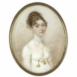 Thomas Hazlehurst Portrait of Mary Ryding, née Pownall