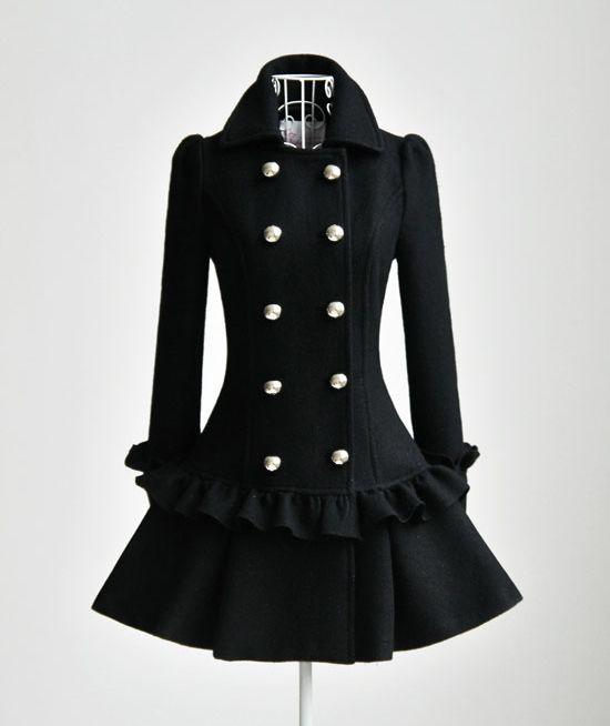 black coat <3