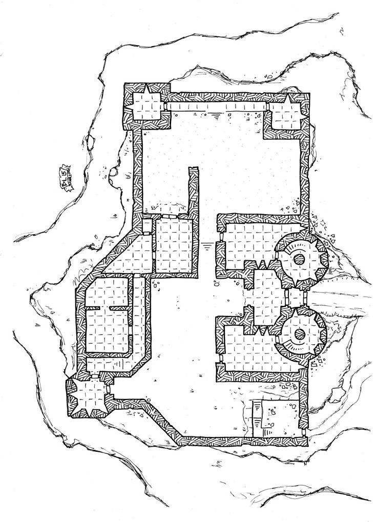 37 best d&d castle maps images on pinterest | castles, fantasy map