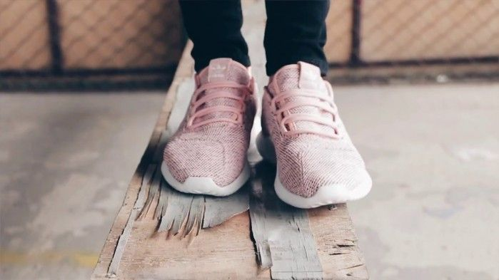 Adidas Tubular Shadow Knit Sneaker, Pink   Buy ➜ https://shoespost.com/adidas-tubular-shadow-knit-sneaker-pink/