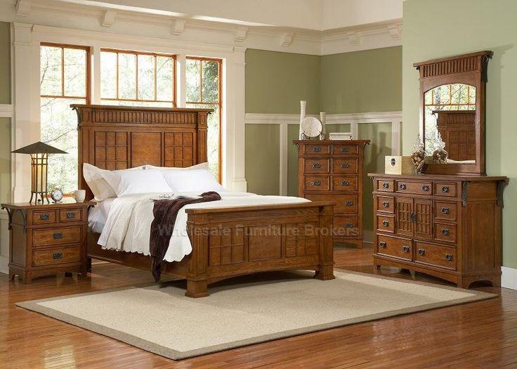 Craftsman Platform Bed | Bedroom Furniture Set | Liberty Furniture