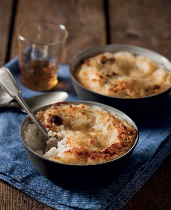 Not-so-naughty rice pudding