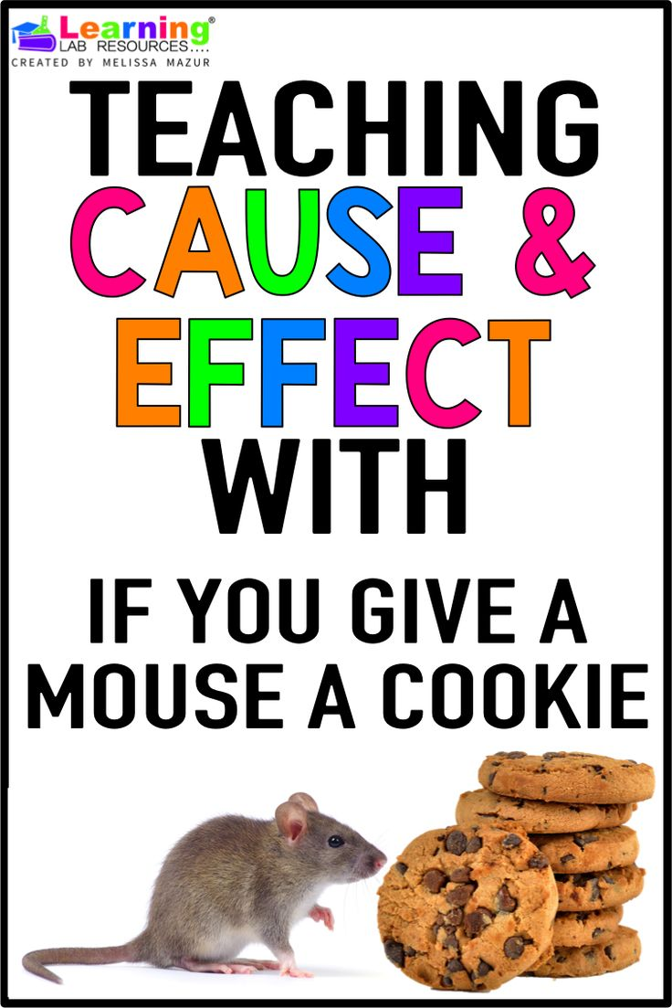 17 best ideas about cause and effect cause and teach your students to understand cause and effect the book if you give a mouse a cookie using these three activity ideas