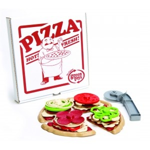 Green Toys Pizza Parlour. Made from recycled materials. AU $35.99 http://www.summerlane.com.au/imaginative-play/2491-green-toys-pizza-parlour-0793573714770.htmlToys Pizza, Baby Toys, Green Toys