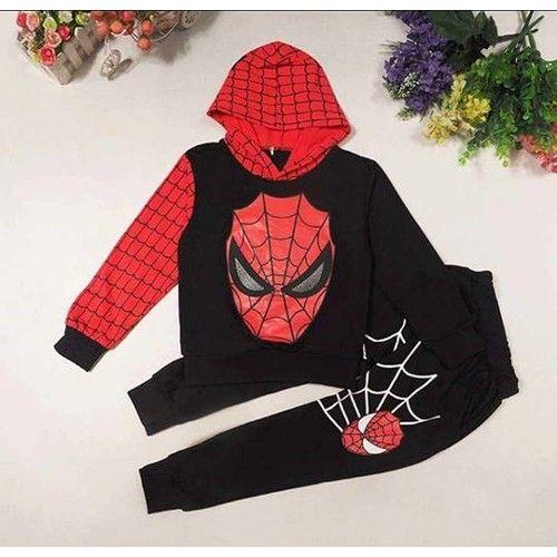 Spiderman Siyah İkili Erkek Çocuk Takımı 39,95 TL ile n11.com'da! Erdem Takım Elbise fiyatı ve özellikleri, Çocuk Giyim