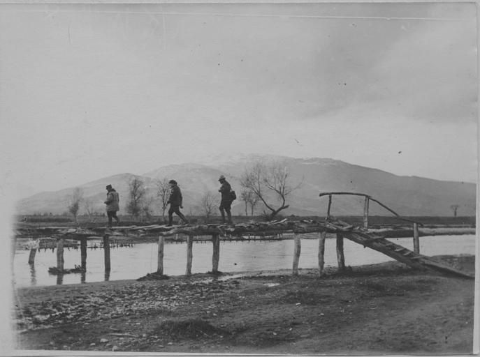 In the area of Florina (January 1917)