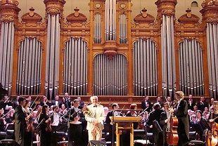 Концерт в Большой зале консерватории. 2012 год. A concert in the Big hall of Conservatory. 2012.