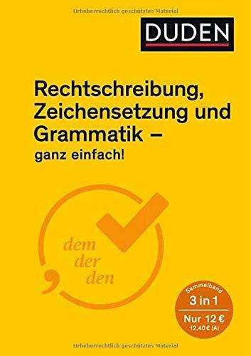 Ganz Einfach Rechtschreibung Zeichensetzung Und Grammatik Rechtschreibung Einfach Ganz Grammatik In 2020 Book Recommendations Film Books Books