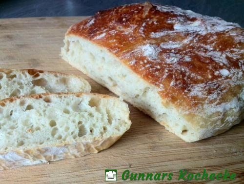 No-Knead Bread - Rustikales Weißbrot ohne Kneten