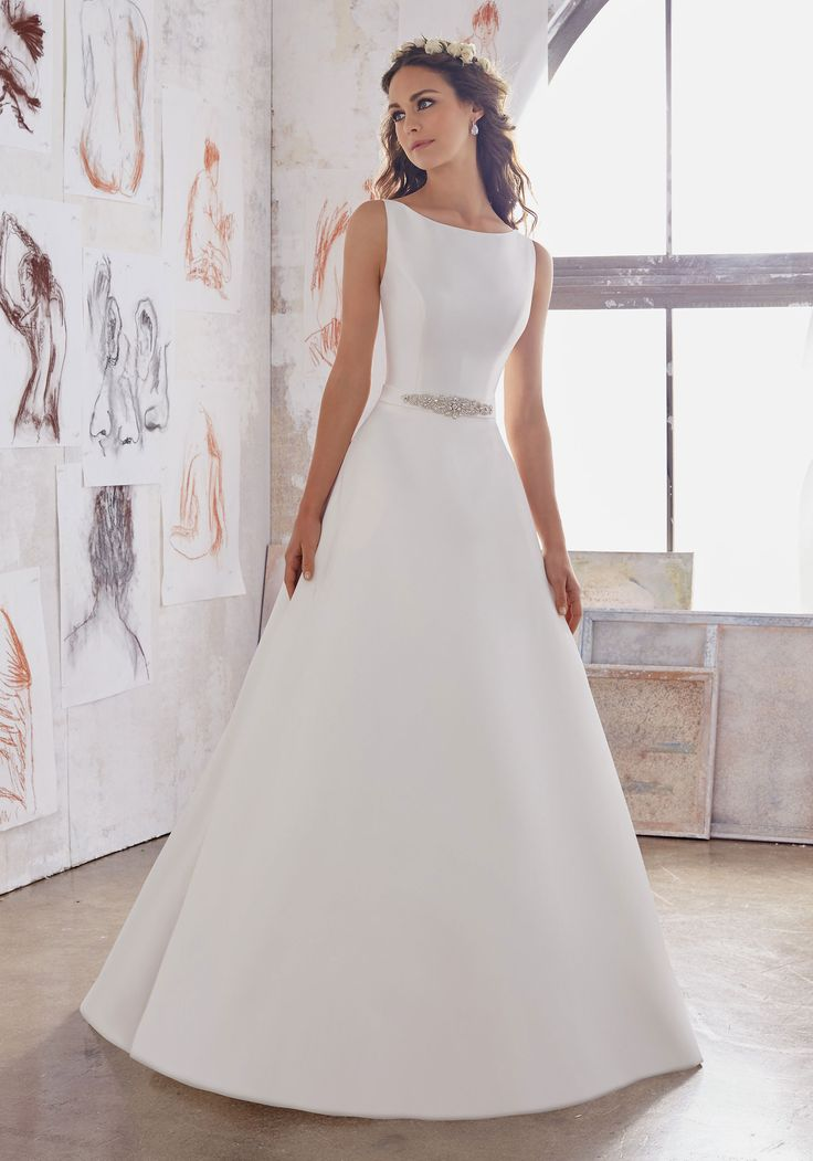 Designer Wedding Dresses And Bridal Gowns By Morilee Simple Yet Elegant This Satin A
