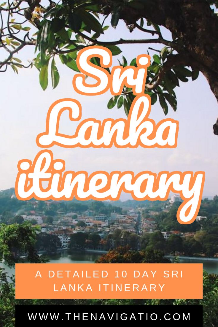 The Ultimate 10 day Sri Lanka Itinerary