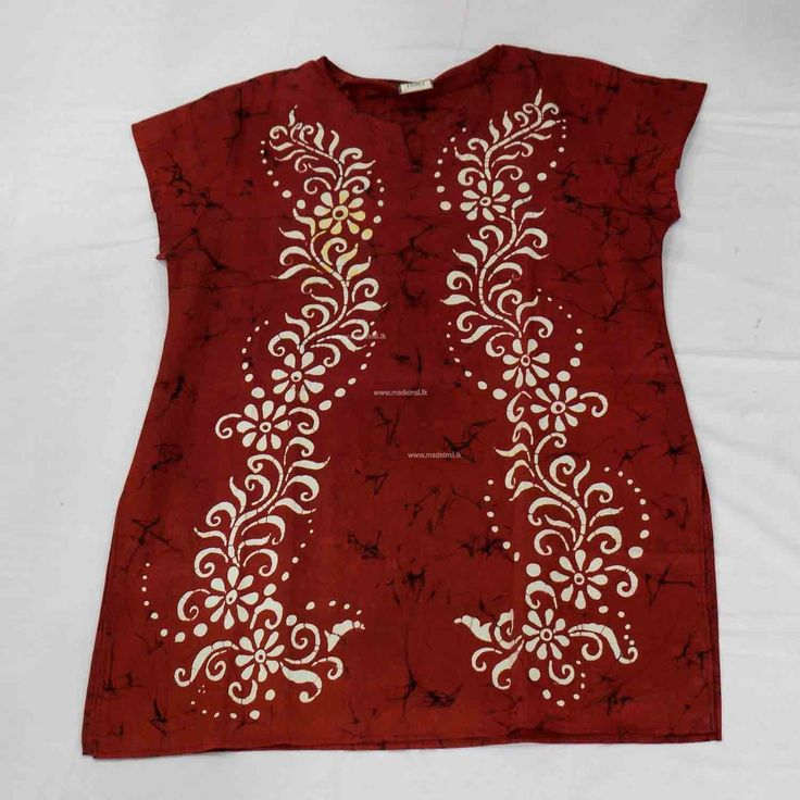 Batik Blouse 2