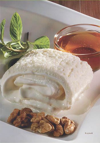 Bal (honey) and kaymak (clotted cream) are traditional Turkish breakfast delicacies. So bon apetit!