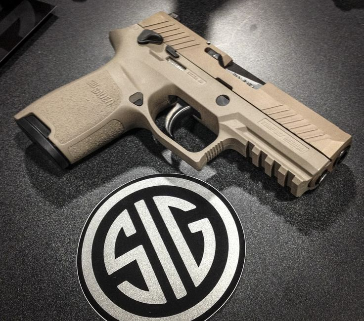 A Sneak Peek at Sig's Entry Into the Latest U.S. Army Bid Sig Sauer P320 (desert finish)
