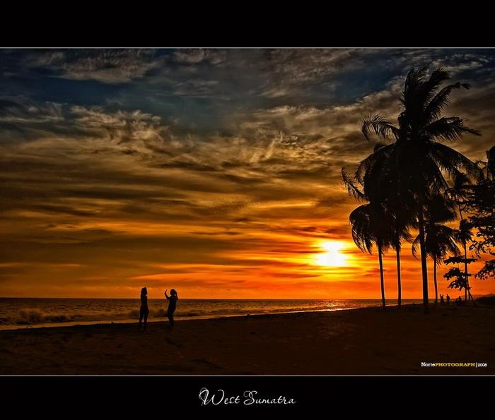 Sunset in Sasak