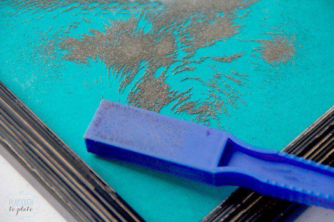 DIY Magnetic Board - Playdough To Plato