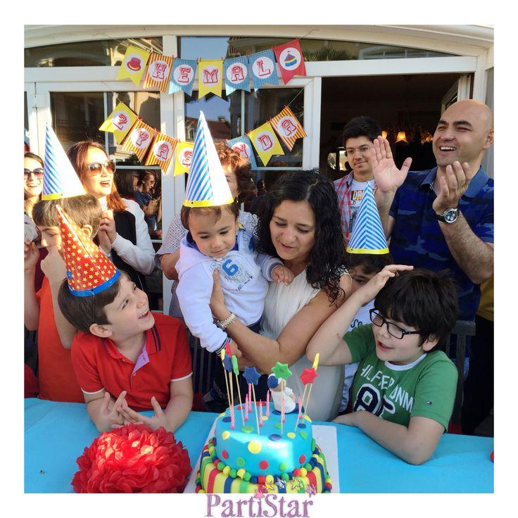 Sirk konseptiyle şenlikli, karnaval tadında bir partiydi! Mutlu yıllar Kemal :) #ferah_hatipoglu #parti #partistar #party #partimalzemeleri #partisüsleri #kişiyeözelparti #doğumgünü #doğumgünüsüsleri #doğumgünüpartisi #doğumgünüorganizasyonu #doğumgünüorganizasyon #partisüsü #happybirthday #sirk #circus