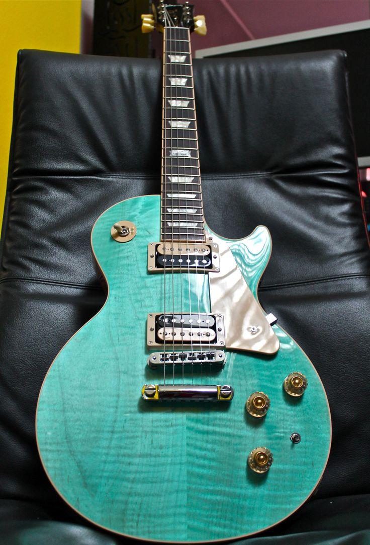 Gibson Les Paul Seafoam Green : les paul classic in seafoam green guitars gibson les pauls pinterest les paul and green ~ Hamham.info Haus und Dekorationen