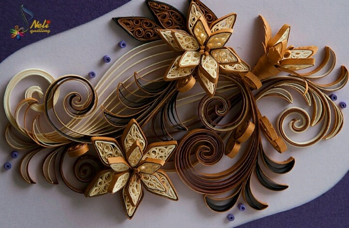 Quilling ornament neli quilling art quilling rocks for How to quilling art