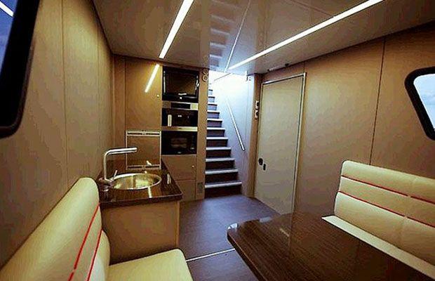 2 Story Motorhome Interiors | Gallery: The Worldu0027s Coolest Motorhomes |  Outdoors: RV Living | Pinterest