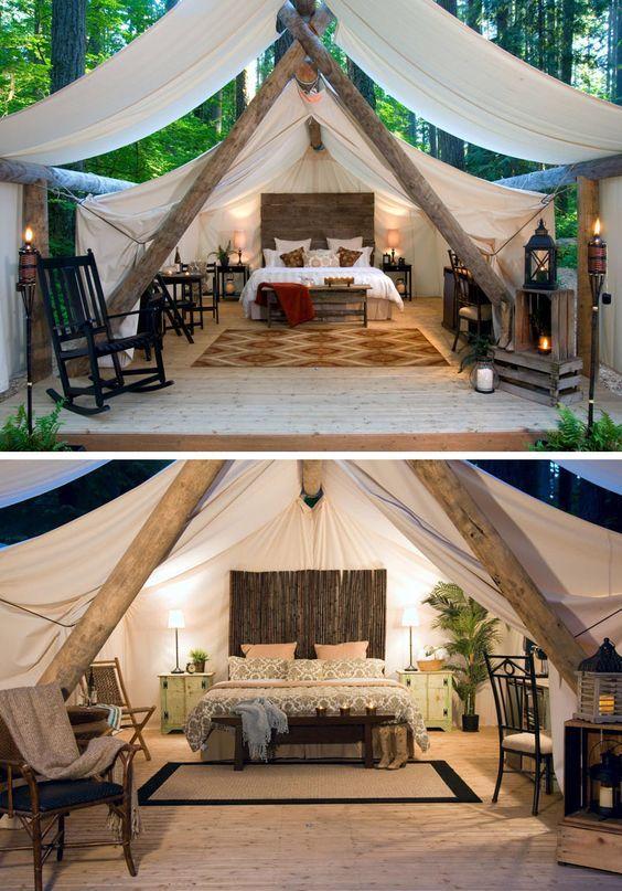 Gl&ing - 10 ongelooflijke plekken om luxueus te k&eren! & 194 best Tent images on Pinterest | Tent camping Camping and Go ...
