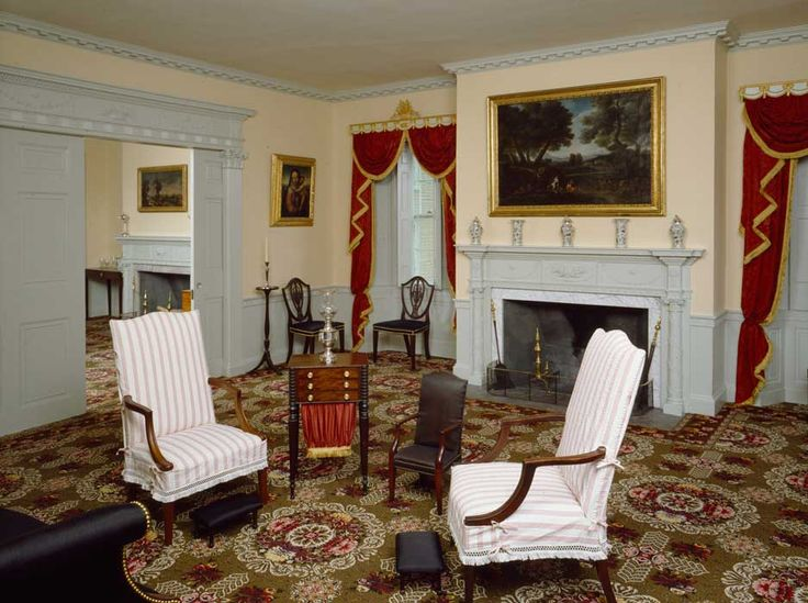 78 best images about colonial living rooms on pinterest for Inside colonial homes