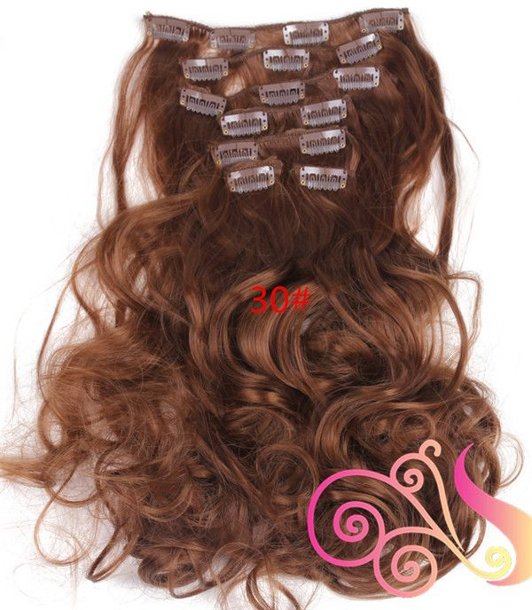 Wavy Real Hair Extensions 72
