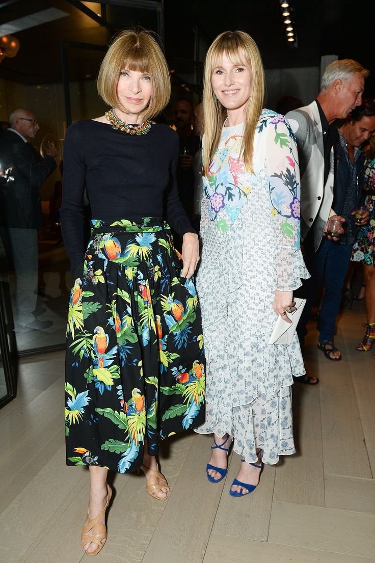 Anna Wintour and Amy Astley